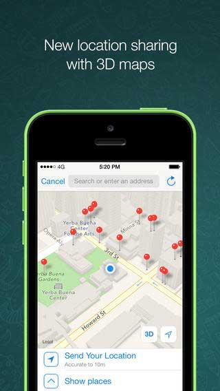 تحديث تطبيق واتس آب وتحديثات جديدة
