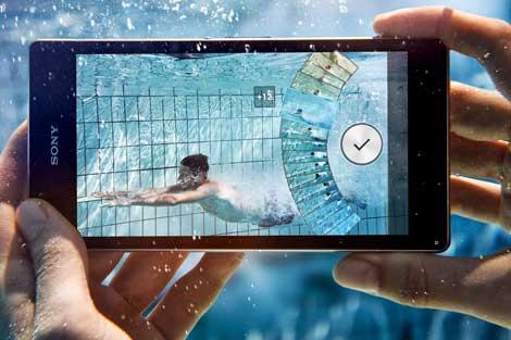تطبيقات تعمل تحت الماء لهواتف سوني