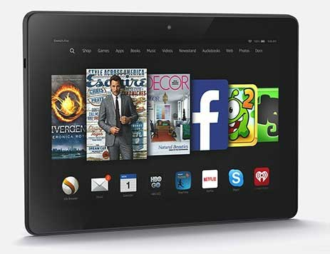 الإعلان عن الجيل الثاني من الجهاز اللوحي Amazon Fire HDX 8.9