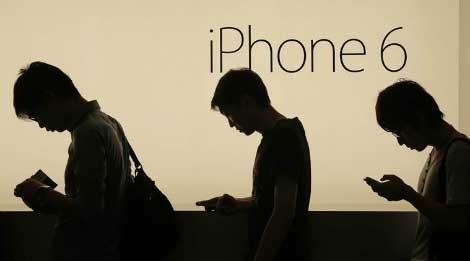 بدء إطلاق هاتفي iPhone 6 و iPhone 6 Plus في الاسواق العالمية