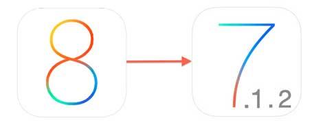 شرح طريقة الرجوع من iOS 8 إلى iOS 7.1.2
