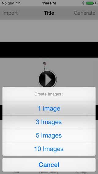 تطبيق تحويل الفيديو الى صور
