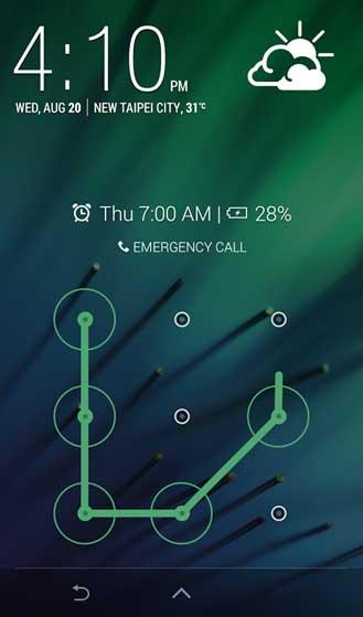 تطبيق HTC Lock Screen للأندرويد
