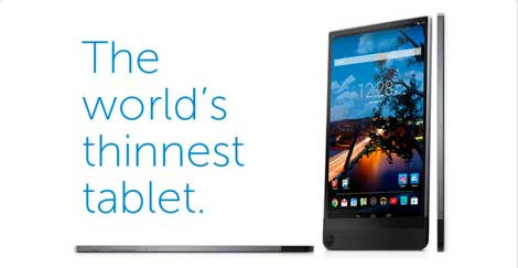 الجهاز اللوحي Dell Venue 8 7000