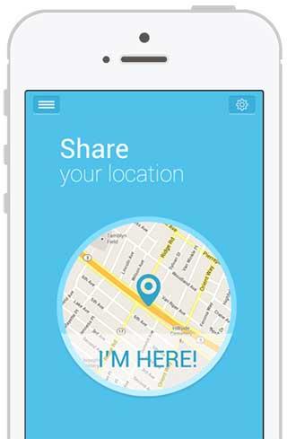 تطبيق MapsToMe لمشاركة موقعك - للأندرويد