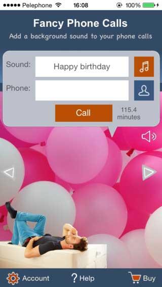 تطبيق Fancy Phone Call