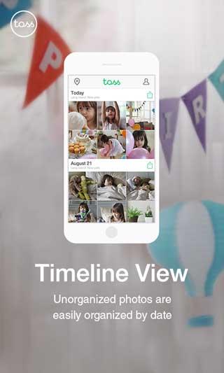 تطبيق LINE Toss شبكة اجتماعية للصور للاندرويد