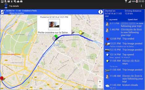 تطبيق Travel-eMate Lite للأندرويد