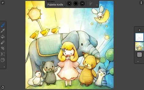 تطبيق الرسم Painter Mobile للأندرويد