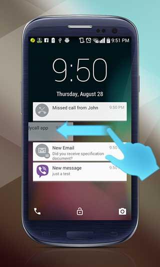 تطبيق Android L Lockscreen Plus شاشة قفل
