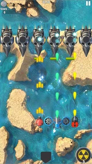 حارب طائرات العدو في لعبة Game About Flight 2