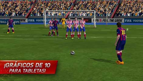 لعبة FIFA 15 Ultimate Team للأندرويد