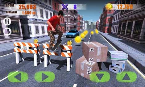 لعبة Street Skater 3D رائعة ومميز للأندرويد