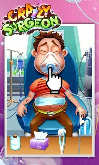 لعبة Crazy Surgeon لتعليم الأطفال الطب