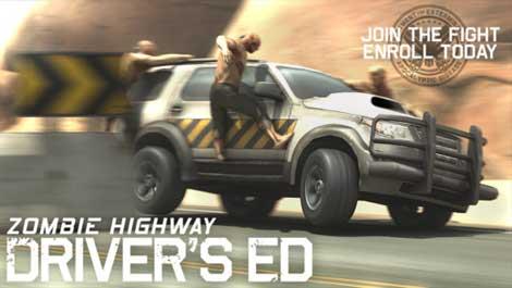 لعبة Zombie Highway لقتال الزومبي