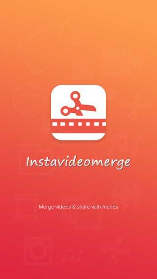 تطبيق Insta Video Merge لدمج مقاطع الفيديو