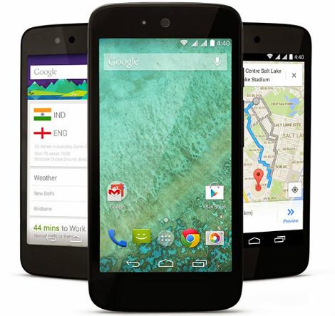 جوجل تكشف رسمياً عن هواتف Android One منخفضة التكلفة !
