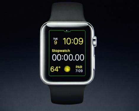 ساعة آبل الذكية Apple watch !