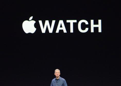 الإعلان عن ساعة آبل الذكية Apple watch