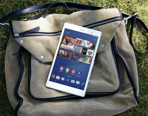 الجهاز اللوحي Sony Xperia Z3 Tablet Compact : الأخف وزناً ، الأقل سمكاً !