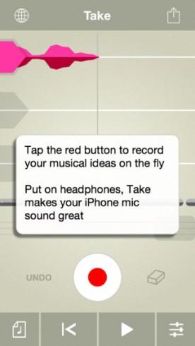 تطبيق Take Creative Vocal Recorder - لتسجيل الصوت و تعديله باحترافية !