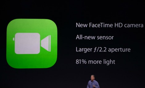 الكاميرا الأمامية في هاتفي iPhone 6 و iPhone 6 Plus