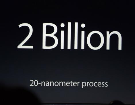 يحتوي معالج A8 في هاتفي iPhone 6 و iPhone 6 Plus على 2 مليار ترانسستور !