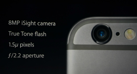 iPhone 6 و iPhone 6 Plus : الكاميرا الخلفية !