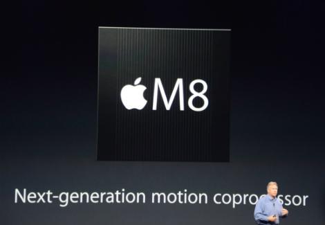 معالج M8 الجديد سيكون مدمجاً في هاتفي iPhone 6 و iPhone 6 Plus