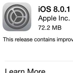 الإصدار 8.0.1 متاح للتحميل - انتبه لا تقم بالتحديث