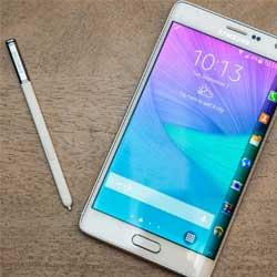 صورة جهاز Galaxy Note Edge ذو الشاشة المنحنية سيتم إطلاقه العام المقبل !