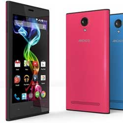 شركة Archos الفرنسية تطلق هاتفين رخيصي الثمن