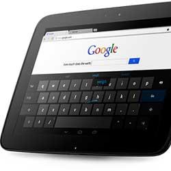 جوجل تعمل مع LG على جهاز لوحي بمقاس 7 إنش