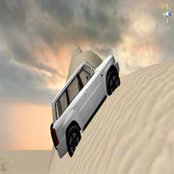 لعبة كنق التطعيس Climbing sand dune