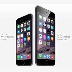 مقارنة بين جهاز الآيفون 6 و الآيفون 6 بلس !