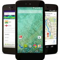 جوجل تكشف رسمياً عن اجهزة Android One منخفضة التكلفة !