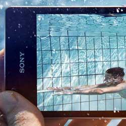 سوني تطلق تطبيقات تتفاعل وتعمل تحت الماء لهواتف سوني