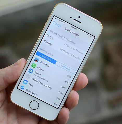 كيفية إطالة عمر البطارية في نظام iOS 8 !