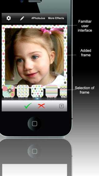 تطبيق Ace PhotoJus Frame Pro لعمل إطارات للصور