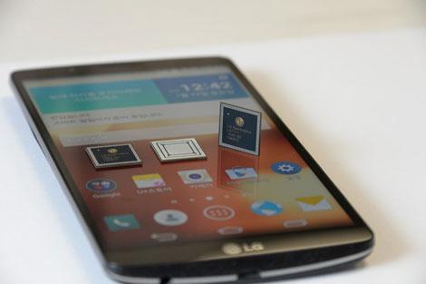 شركة LG تعلن عن جهاز LG G3 Screen بمعالج خاص بها