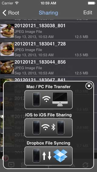 تطبيق Phone Drive لنقل الملفات إلى جهازك