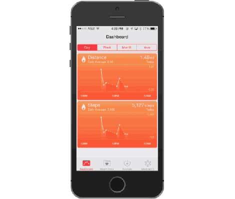 ميزة HealthKit أو المتابعة الصحية لمستخدم الأيفون