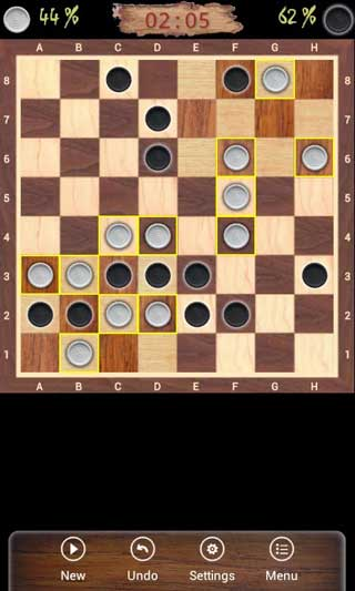 لعبة Corners لعبة الدامة أو الذكاء للأندرويد