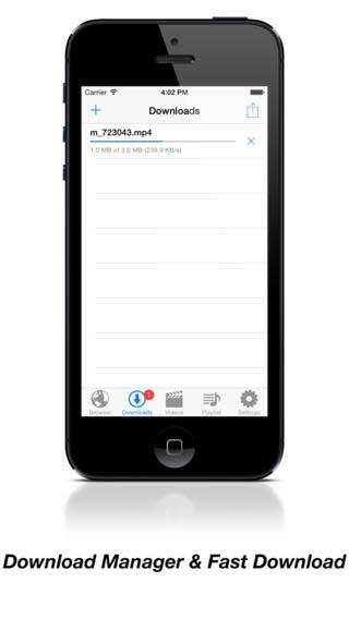 تطبيق Video Download لتحميل ملفات الفيديو
