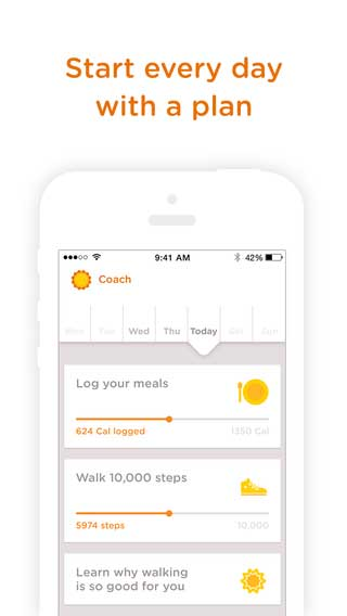تطبيق Noom Coach: Weight Loss لإنقاص وزنك - مجانا