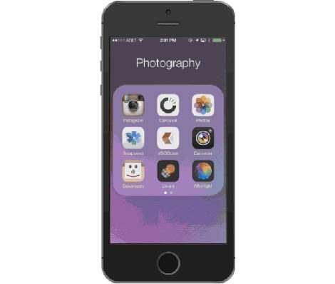 ميزة البحث عن الصور داخل ألبوم الصور بطريقة مفصلة
