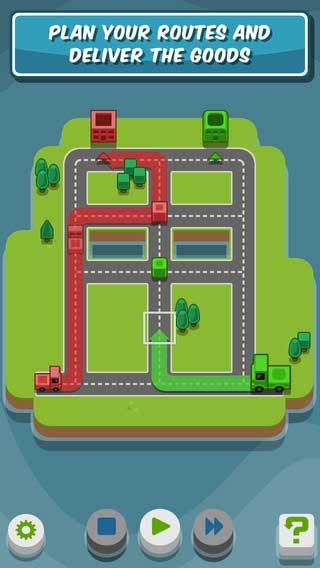 لعبة RGB Express لمحبي الألغاز للأيفون والآيباد