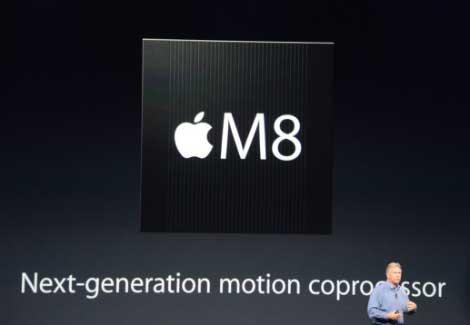 Apple M8 : معالج حركة جديد !