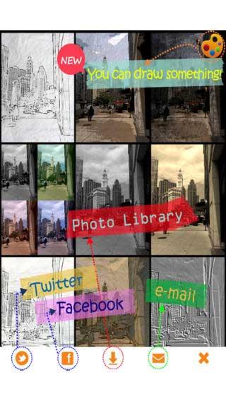تطبيق Orange Camera لتحرير الصور