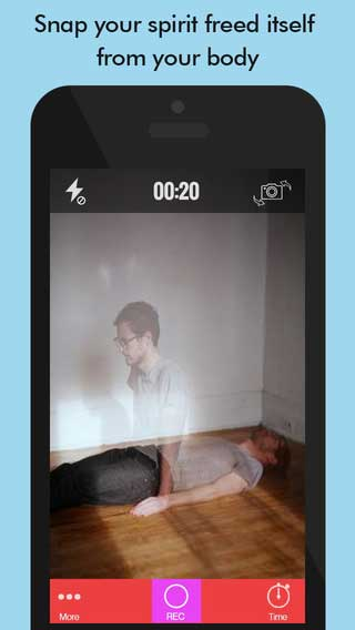 تطبيق Ghost Lens Pro للتسلية وتعديل الصور